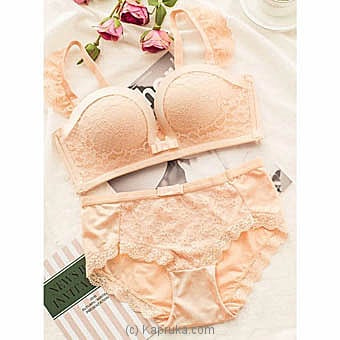 Sexy French Bra And Brief Lingerie Set 36B Online at Kapruka | Product# clothing0639_TC3