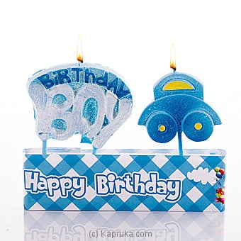 Birthday Boy Candles Online at Kapruka | Product# candles00119