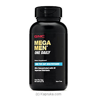 GNC Mega Men One Daily Online at Kapruka | Product# grocery00836