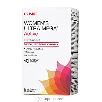 GNC Women`s Ultra Mega Active Online at Kapruka | Product# grocery00842