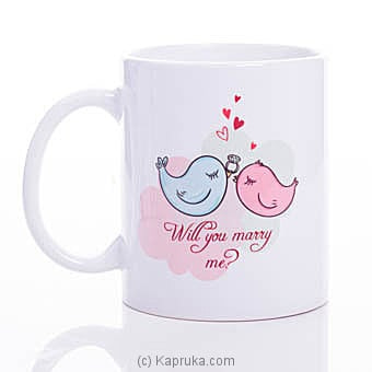 Will You Marry Me Mug Online at Kapruka | Product# ornaments00658