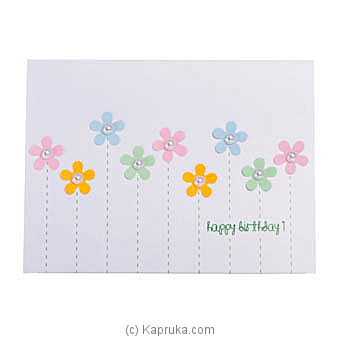 Happy Birthday Handmade Greeting Card Online at Kapruka | Product# greeting00Z1802