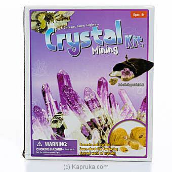 Crystal Mining Kit Online at Kapruka | Product# kidstoy0Z915