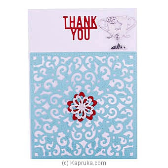 Handmade Thank You Greeting Card Online at Kapruka | Product# greeting00Z1842