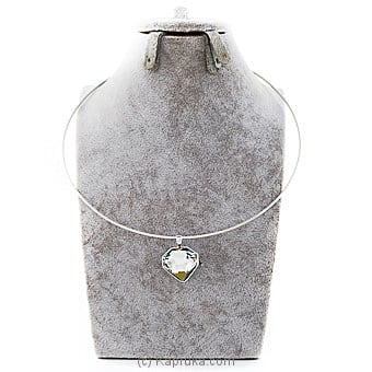 Crystal Pendant With Necklace Online at Kapruka | Product# jewllery00SK759