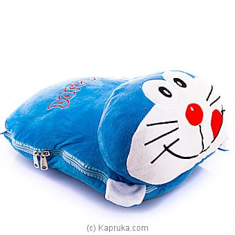 Doraemon With Blanket Online at Kapruka | Product# softtoy00587