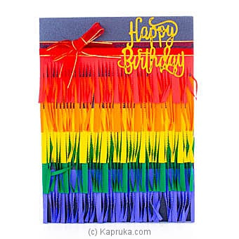 Handmade Happy Birthday Greeting Card Online at Kapruka | Product# greeting00Z1873