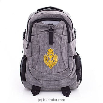 Royal College Travel Laptop Backpack With USB Port Online at Kapruka | Product# schoolpride00156