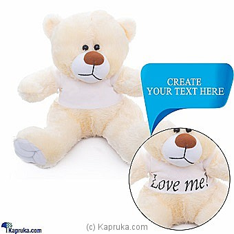 Engravable Customized Huggable Teddy Online at Kapruka | Product# softtoy00618