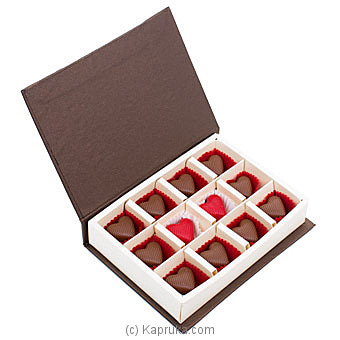 Java Sesame Praline 12 Piece Chocolate Box Online at Kapruka | Product# chocolates00847