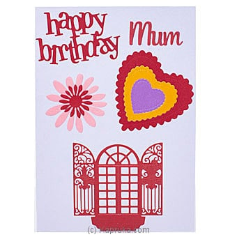 Handmade Happy Birthday Greeting Card Online at Kapruka | Product# greeting00Z1905