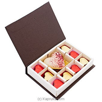 Java Big Heart With Pebbles Chocolate Box Online at Kapruka | Product# chocolates00843