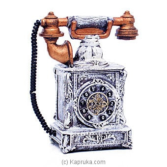 Antique Landline Telephone Ornament Online at Kapruka | Product# ornaments00703