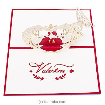 Valentine 3D Popup Greeting Card Online at Kapruka | Product# greeting00Z1934