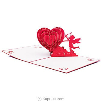 Valentine 3D Popup Greeting Card Online at Kapruka | Product# greeting00Z1935