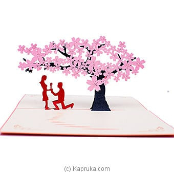 Valentine 3D Popup Greeting Card Online at Kapruka | Product# greeting00Z1936
