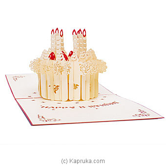 Happy Birthday 3D Popup Greeting Card Online at Kapruka | Product# greeting00Z1941