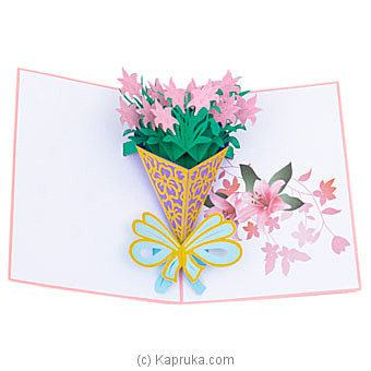 Happy Birthday 3D Popup Greeting Card Online at Kapruka | Product# greeting00Z1943