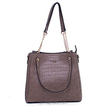 Women`s Khaki Color Handbag Online at Kapruka | Product# fashion001209
