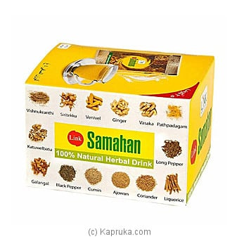 Link Samahan Herbal Drink - (30 Sachet Packets) Online at Kapruka | Product# ayurvedic00121