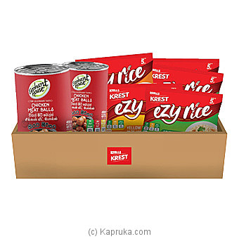Keells Krest Ezy Rice - Chicken Meatballs Product Pack Online at Kapruka | Product# grocery00899