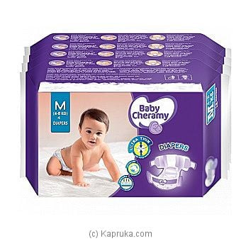 Baby Cheramy Diaper Medium Pack Online at Kapruka | Product# grocery00927