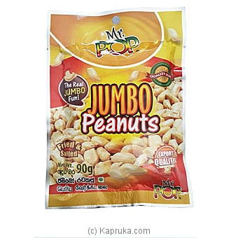 Mr. POP Jumbo Peanuts 90g Online at Kapruka | Product# grocery00962