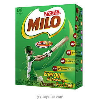 Milo Active-go Chocolate Food Drink 400g Online at Kapruka | Product# grocery00976