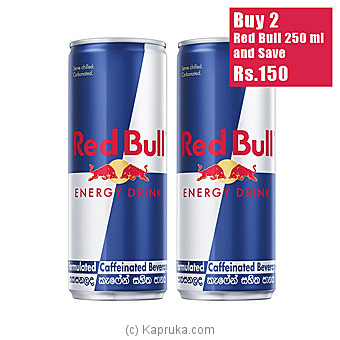 Red Bull Energy Drink (250ML)- 2 Bottle Pack Online at Kapruka | Product# grocery00988