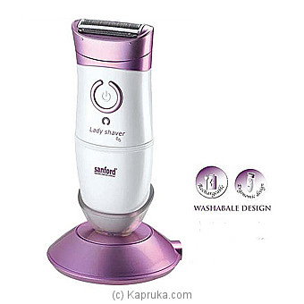 Waterproof Rechargeable Lady Shaver (SF-1924LSR-BS) Online at Kapruka | Product# elec00A1782
