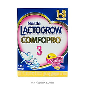 Nestle Lactogrow Comfopro 3 (for 1-3 Years) Online at Kapruka | Product# grocery001004