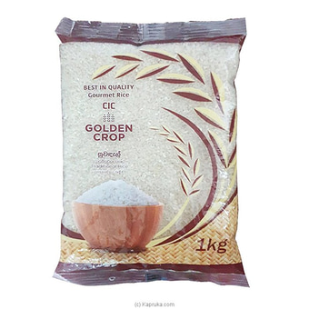 CIC Golden Crop Traditional Rice - 1 KG Online at Kapruka | Product# grocery001008