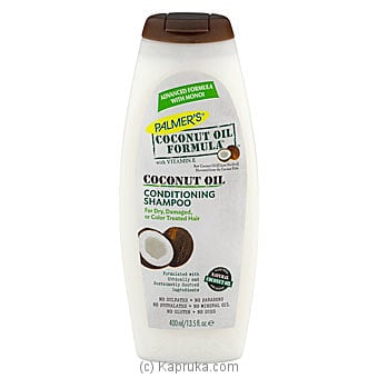 Coconut Oil Shampoo By Palmer's 400ml Online at Kapruka | Product# cosmetics00390