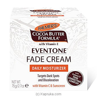 Cocoa Butter Formula Eventone FADE CREAM By Palmer`s 75g Online at Kapruka | Product# cosmetics00393