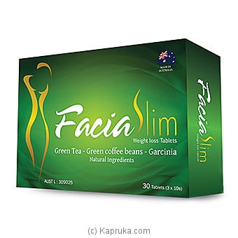 Facia Slim 30 Capsules Online at Kapruka | Product# grocery001038
