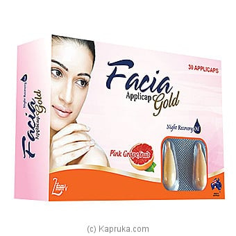 Facia Gold Applicap Online at Kapruka | Product# grocery001035