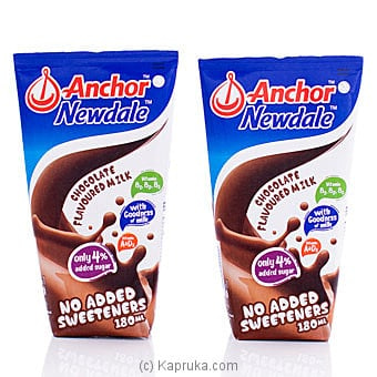 Anchor Newdale Chocolate Flavoured Milk- 180ml (2 Pack) Online at Kapruka | Product# grocery001028