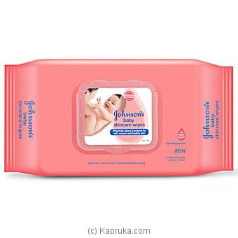 Johnson's Baby Skincare Wipes- 80N Online at Kapruka | Product# grocery001045