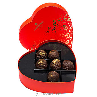 Shangri La Chocolate Truffle With Mullet Wine Jelly 6 Piece Box Online at Kapruka | Product# chocolates00871
