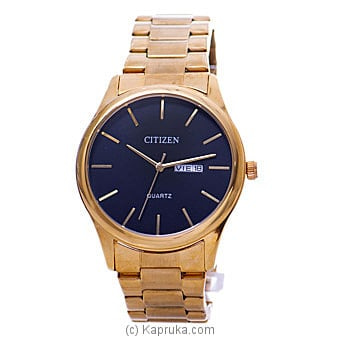 Citizen Gent`s Gold Watch Online at Kapruka | Product# jewelleryW00761