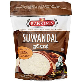 Suwandal Rice 1kg Online at Kapruka | Product# grocery001128