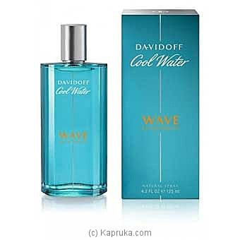 Davidoff Cool Water Wave Eau De Toilette Spray For Men 125ml Online at Kapruka | Product# perfume00325