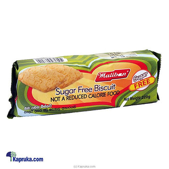 Maliban Sugar Free 220g Online at Kapruka | Product# grocery001145
