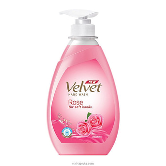 Velvet Hand Wash Rose 250ml Online at Kapruka | Product# grocery001208