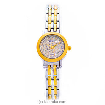 Citizen Ladies Gold And Silver Watch Online at Kapruka | Product# jewelleryW00769