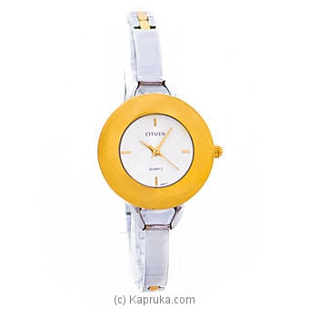 Citizen Ladies Gold And Silver Watch Online at Kapruka | Product# jewelleryW00767