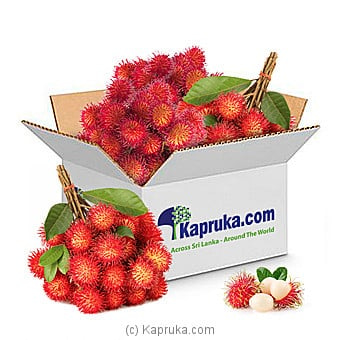 50 Rambutan Box Online at Kapruka | Product# fruits00149