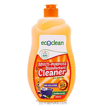Eco Clean Multi-purpose Disinfectant Cleaner- 600ml Online at Kapruka | Product# grocery001242