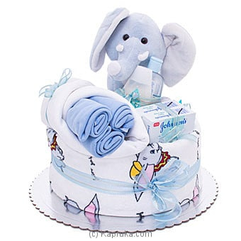 Baby Shower Gift Hamper- Blue Online at Kapruka | Product# babypack00361