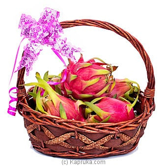 Dragon Fruit Basket Online at Kapruka | Product# fruits00152